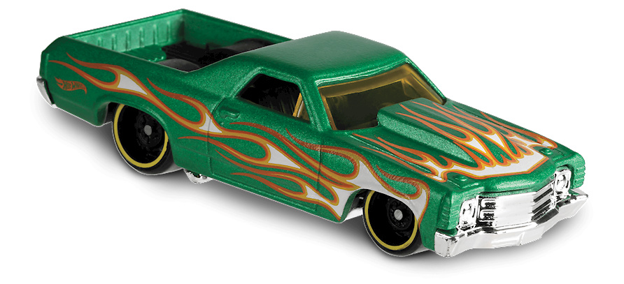 71 El camino -Flames- (1971) Hot Wheels FYC40 1/64
