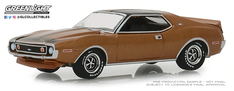 AMC Javelin AMX (1972) Greenlight 13230B 1/64