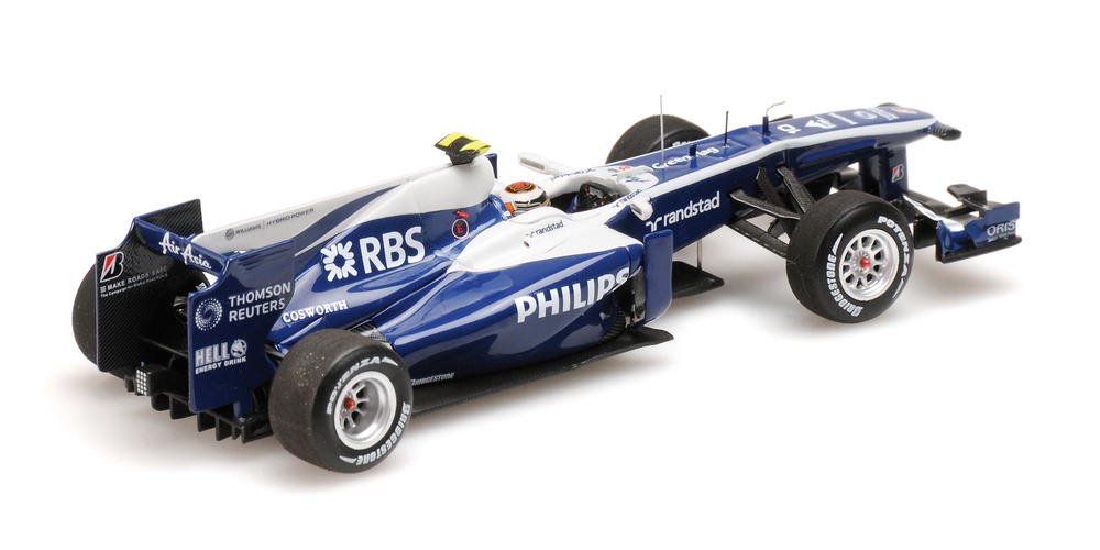 AT&T Williams Cosworth FW32 nº 10 Nico Hülkenberg (2010) Minichamps 417100010 1/43