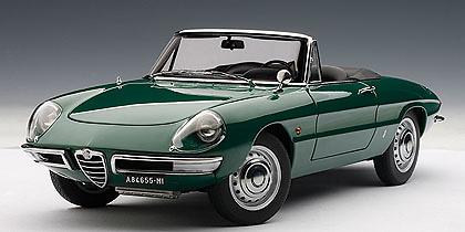 Alfa Romeo 1600 Duetto (1966) Autoart 70138 1/18