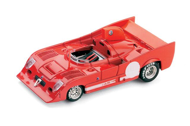Alfa Romeo 33TT12 Prototipo (1974) Brumm R237 1/43