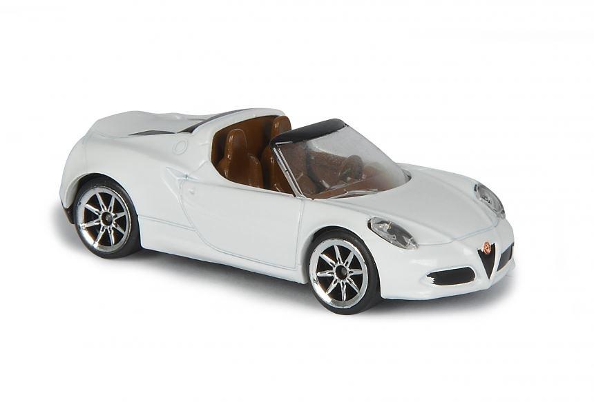 Alfa Romeo 4C Spider (2014)