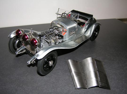 Alfa Romeo 6C 1750 GS -Sin Pintura- (1930) CMC M142 1:18