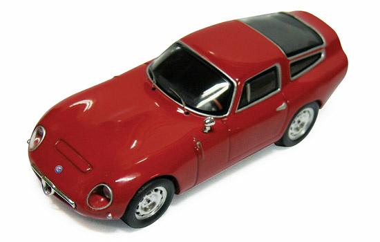 Alfa Romeo GTZ Tubolare (1963) Ixo CLC061 1/43