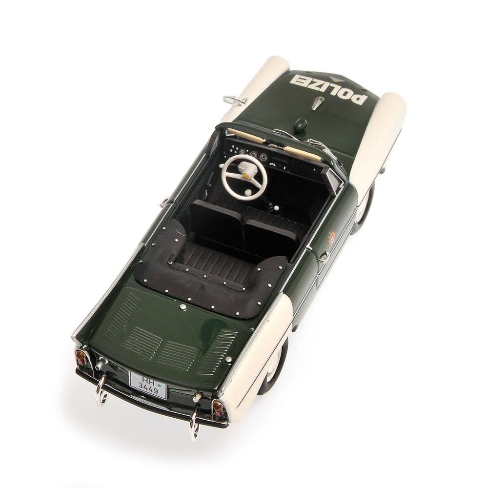 Amphicar Policia de Hamburgo (1965) Minichamps 400097090 1/43