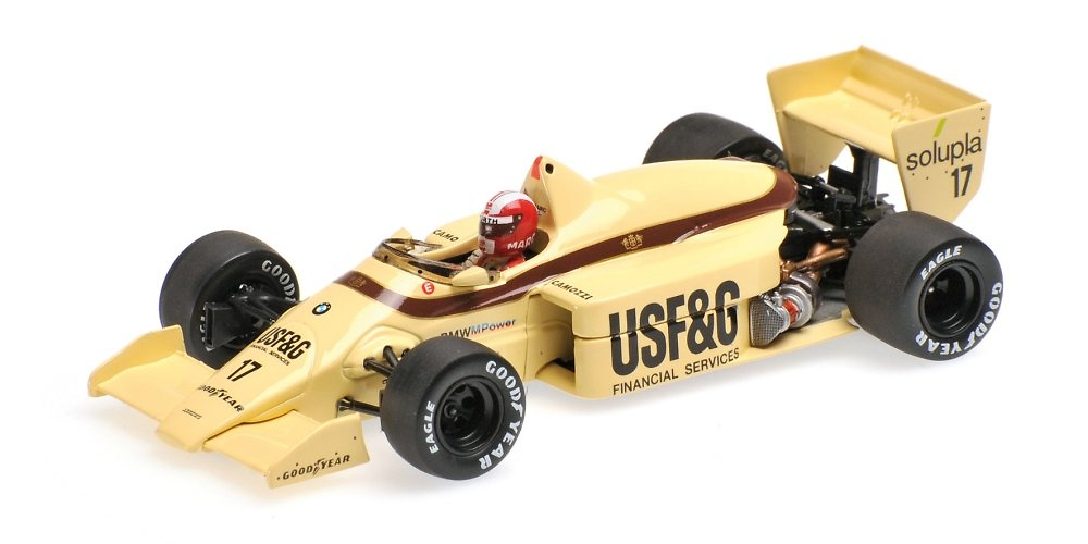 Arrows A8 nº 17 Marc Surer (1986) Minichamps 400860017 1:43