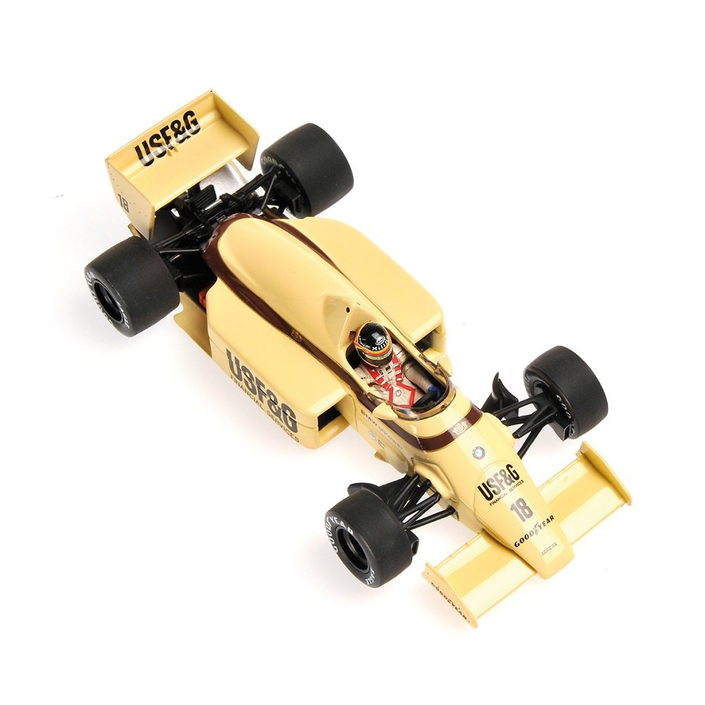 Arrows A8 nº 18 Thierry Boutsen (1986) Minichamps 400860018 1:43