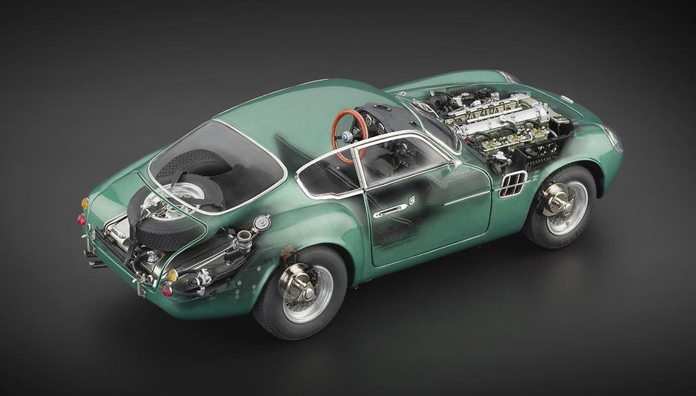 Aston Martin DB4 GT Zagato (1961) CMC M132 1/18