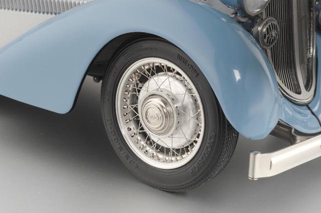Audi 225 Roadster abierto (1935) CMC M-075 1/18