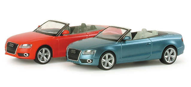 Audi A5 convertible abierto (2008) Herpa 034173 1/87