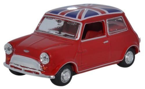 Austin Mini Union Jack (1964) Oxford 43MIN023 1/43