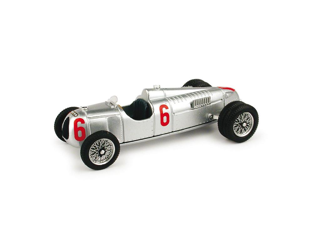 Auto Union Tipo C 16 cil. Ruedas Gemelas nº 6 (1936) Brumm R110 1/43