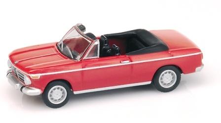 BMW 2002 Cabrio (1968) Bub 08451 1/87