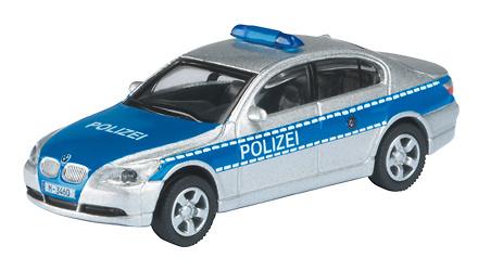 BMW 525i Polizei -E60- (2004) Schuco 452573200 1/87