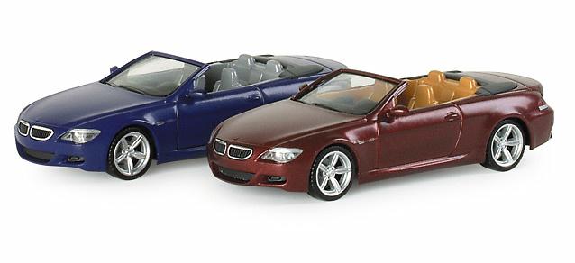 BMW M6 Cabrio Abierto -E64- (2005) Herpa 033657 1/87