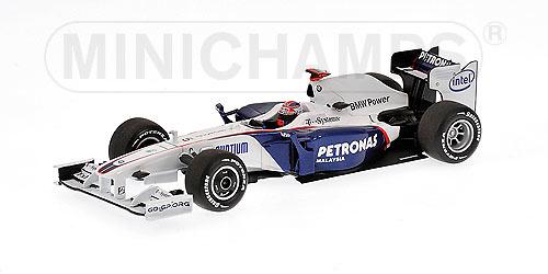 BMW Sauber F1.09 nº 5 Robert Kubica (2009) Minichamps 400090005 1/43