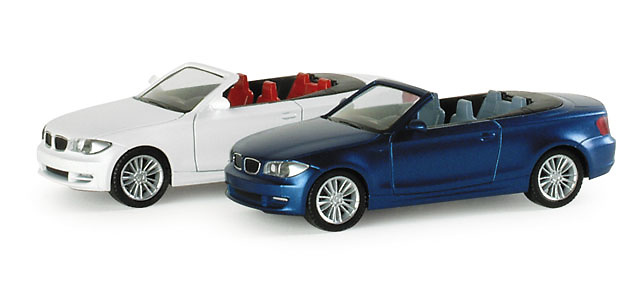 BMW Serie 1 Cabriolet -E88- (2008) Herpa 033978 1/87