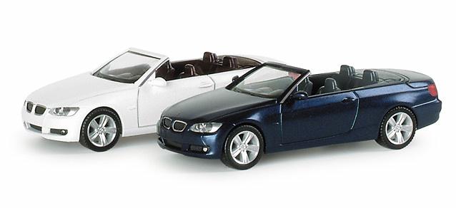 BMW Serie 3 -E93- Cabrio (2007) Herpa 023764 1/87
