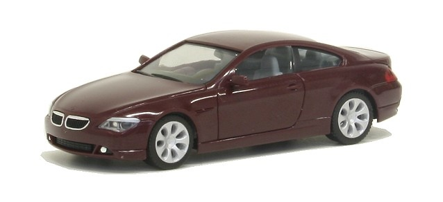 BMW Serie 6 Coupé -E63- (2003) Herpa 023238 1/87