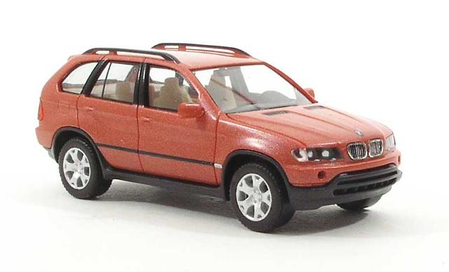 BMW X5 4.4i -E53- (2000) Herpa 101370 1/87