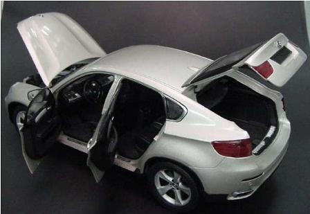 BMW X6 XDrive 501 -E70- Kyosho 08761 1/18