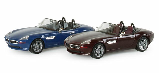 BMW Z8 Roadster Abierto Metalizado -E52- (2000) Herpa 1/87