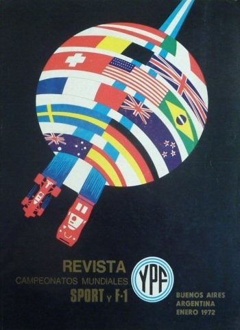 Poster del GP. F1 Argentina 1972