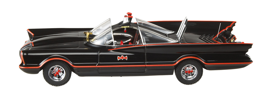 Batmovil Clásico Serie deTelevisión (1966) Hot Wheels R1795 1/43