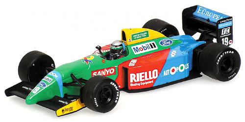 Benetton B190 nº 19 Alessandro Nannini (1990) Minichamps 400900019 1/43