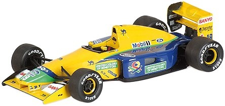 Benetton Ford B191B nº 19 Michael Schumacher (1992) Minichamps 400920119 1/43