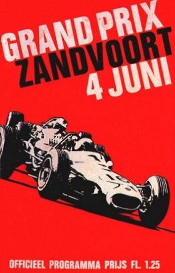 Poster GP. F1 Holanda de 1967