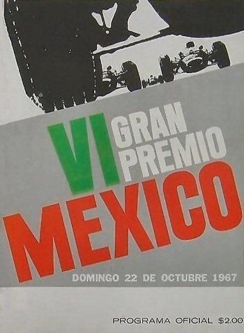 Poster GP. F1 México 1967
