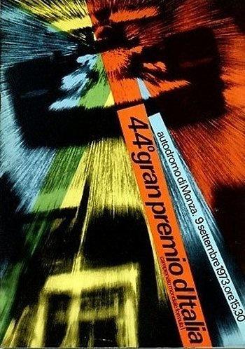 Poster GP. F1 Italia 1973