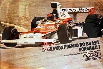 Poster GP. F1 Brasil 1974
