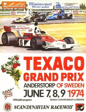 GP. F1 Suecia 1974