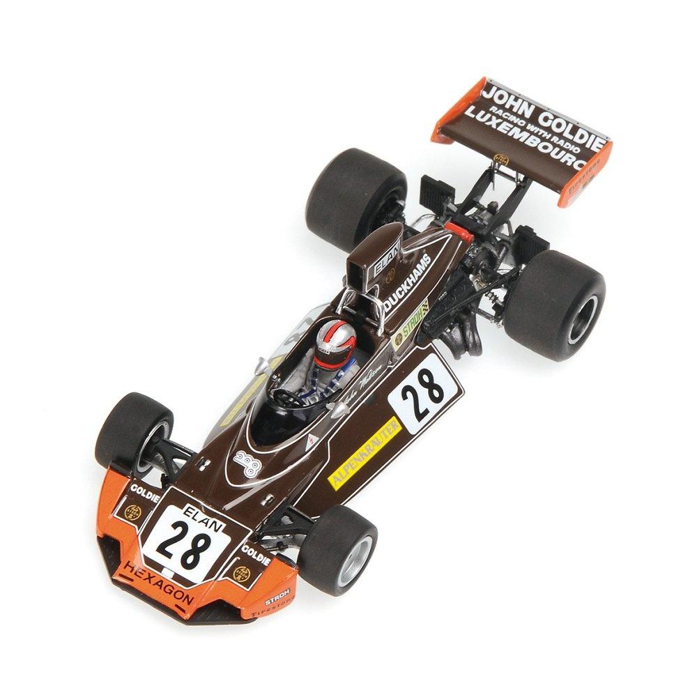 Brabham BT44 nº 28 John Watson (1974) Minichamps 400740028 1:43