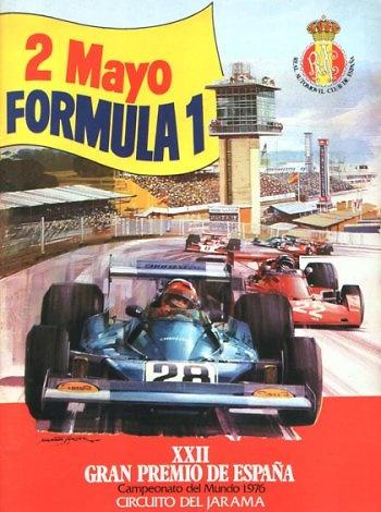Poster GP. F1 de España de 1976