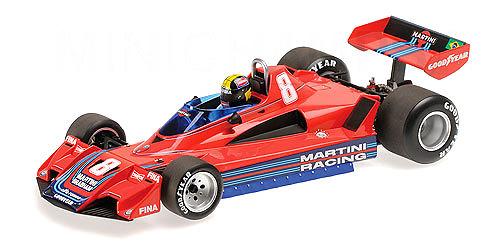 Brabham BT45B nº 8 Carlos Pace (1977) Minichamps 110770108 1:18