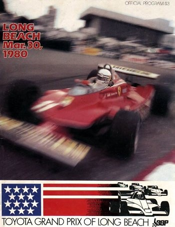 Poster GP. F1 Long Beach 1980