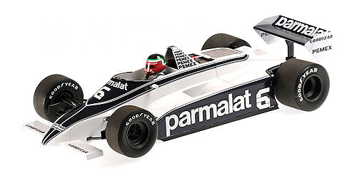 Brabham Ford BT49C nº 6 Hector Rebaque (1981) Minichamps 117810006 1:18