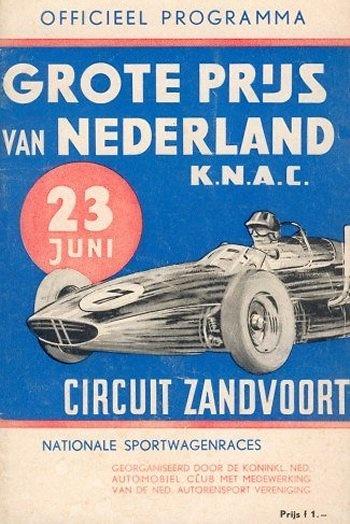 Poster del GP. de Holanda de 1963
