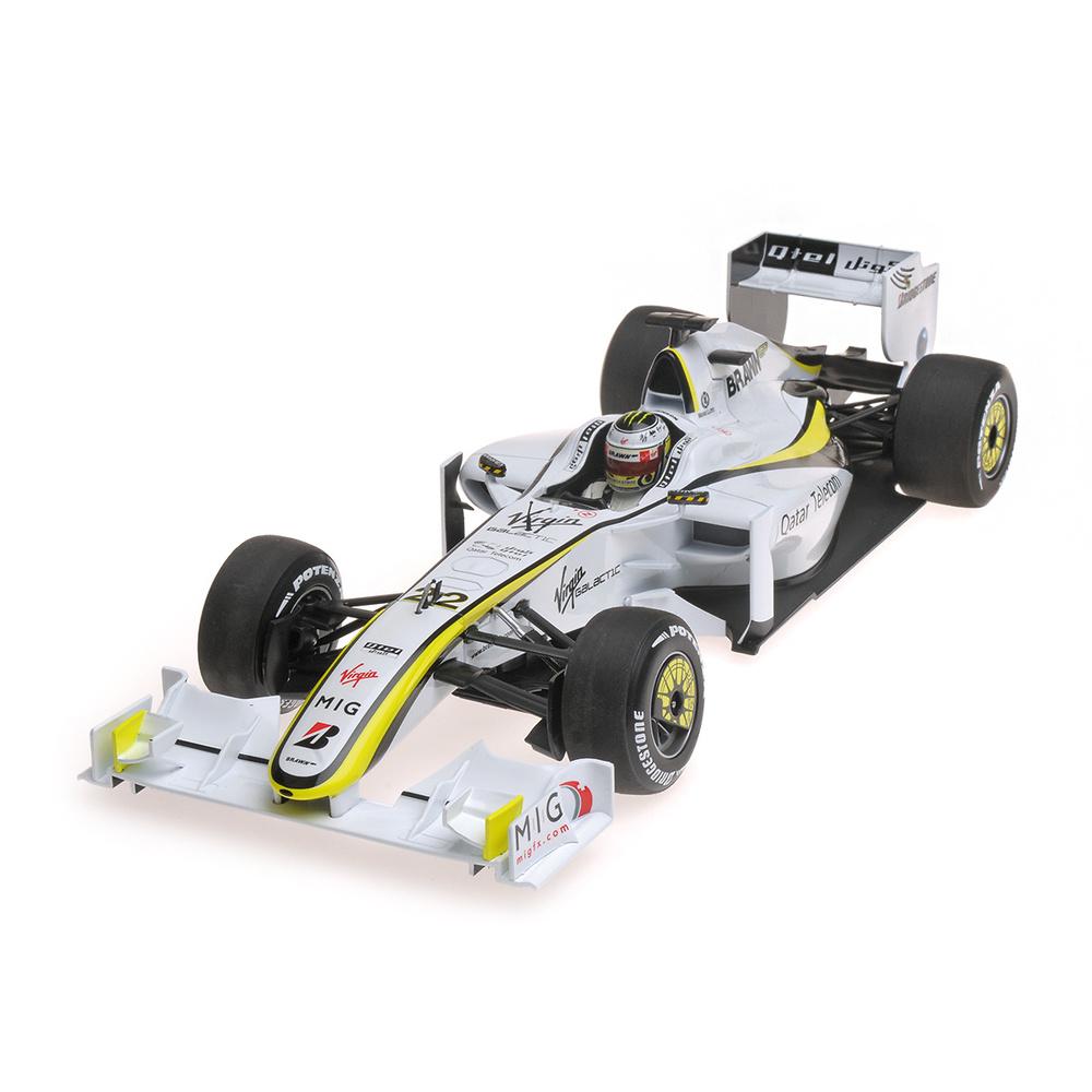 Brawn BGP001 nº 22 Jenson Button (2009) Minichamps 186090022 1:18