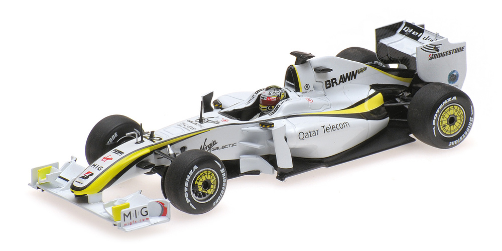 Brawn BGP001 nº 22 Jenson Button (2009) Minichamps 436090022 1:43