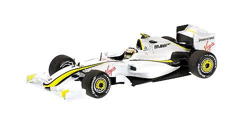 Brawn BGP001 nº 23 Rubens Barrichello (2009) Minichamps 400090023 1/43