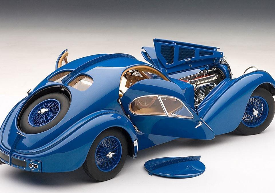 Bugatti 57 SC Atlantic (1938) Autoart 1/18