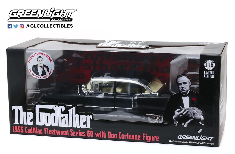 Cadillac Fleetwood Serie 60 (1955) Serie Especial con figura