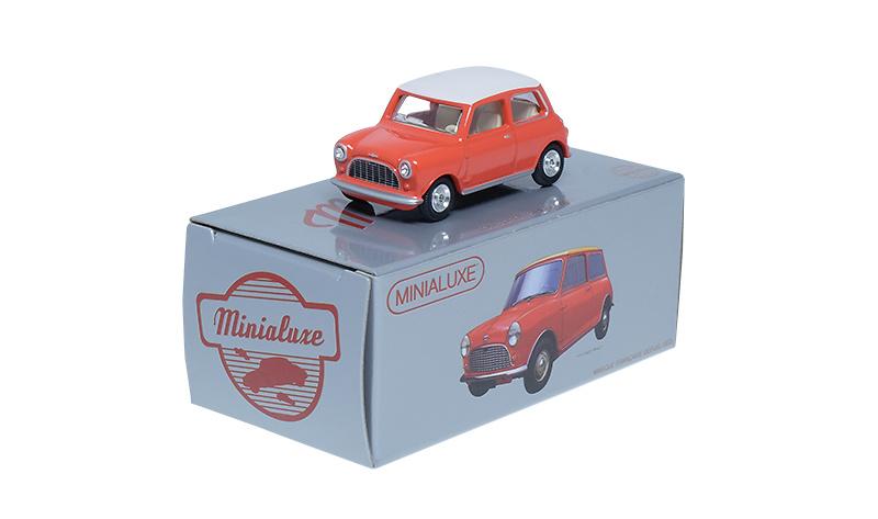 Caja Regalo 4 Austin Mini Morris (Navidad 2017) Minialuxe MB104 1/66