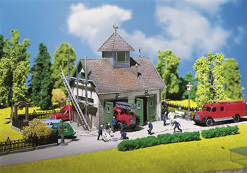 Casa de bomberos Kit Faller 1/87