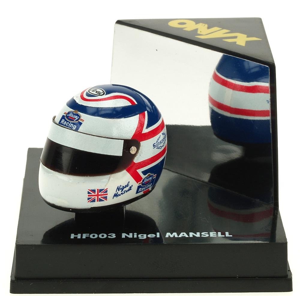 Casco F1 Nigel Mansell () Onyx HF003 1/12