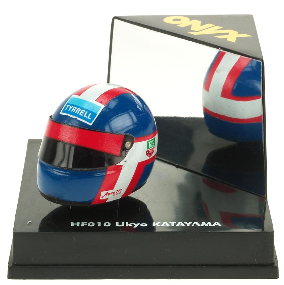 Casco F1 Ukyo Katayama Onyx HF010 1/12